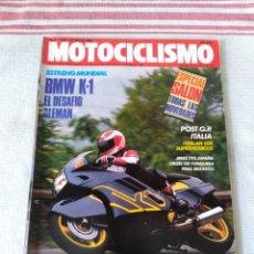 Coches y Motocicletas: REVISTA MOTOCICLISMO AÑO 1989. Lote 175197824