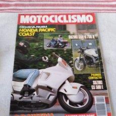 Coches y Motocicletas: REVISTA MOTOCICLISMO AÑO 1989. Lote 175197882