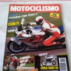 Coches y Motocicletas: REVISTA MOTOCICLISMO AÑO 1989. Lote 175197929