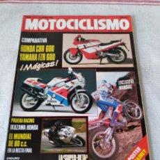 Coches y Motocicletas: REVISTA MOTOCICLISMO AÑO 1989. Lote 175198000