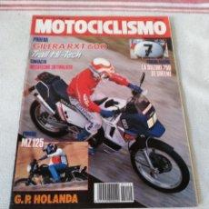 Coches y Motocicletas: REVISTA MOTOCICLISMO AÑO 1989. Lote 175198025