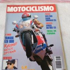 Coches y Motocicletas: REVISTA MOTOCICLISMO AÑO 1989. Lote 175198080