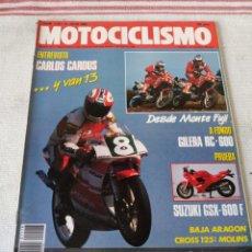Coches y Motocicletas: REVISTA MOTOCICLISMO AÑO 1989. Lote 175198099