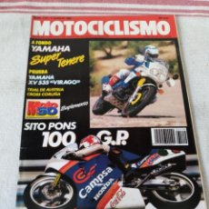 Coches y Motocicletas: REVISTA MOTOCICLISMO AÑO 1989. Lote 175198119