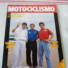 Coches y Motocicletas: REVISTA MOTOCICLISMO AÑO 1989. Lote 175198202