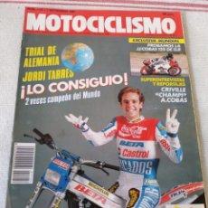 Coches y Motocicletas: REVISTA MOTOCICLISMO AÑO 1989. Lote 175198242