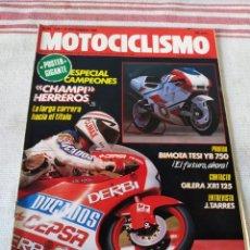 Coches y Motocicletas: REVISTA MOTOCICLISMO AÑO 1989. Lote 175198310