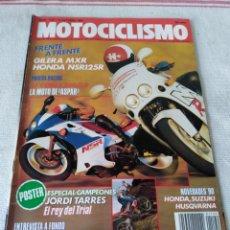 Coches y Motocicletas: REVISTA MOTOCICLISMO AÑO 1989. Lote 175198368