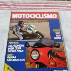 Coches y Motocicletas: REVISTA MOTOCICLISMO AÑO 1989. Lote 175198438