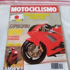Coches y Motocicletas: REVISTA MOTOCICLISMO AÑO 1989. Lote 175198465