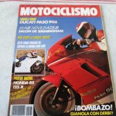 Coches y Motocicletas: REVISTA MOTOCICLISMO AÑO 1989. Lote 175198508