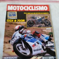 Coches y Motocicletas: REVISTA MOTOCICLISMO AÑO 1989. Lote 175198555
