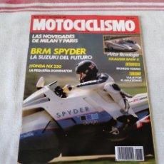 Coches y Motocicletas: REVISTA MOTOCICLISMO AÑO 1989. Lote 175198585