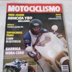Coches y Motocicletas: REVISTA MOTOCICLISMO AÑO 1989. Lote 175198610
