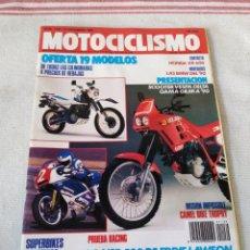 Coches y Motocicletas: REVISTA MOTOCICLISMO AÑO 1989. Lote 175198644