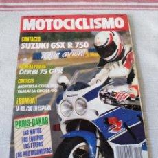 Coches y Motocicletas: REVISTA MOTOCICLISMO AÑO 1989. Lote 175198705