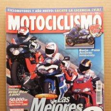 Coches y Motocicletas: MOTOCICLISMO 1608 APRILIA RSV 1000 MILLE DUCATI 996 BIPOSTO SUZUKI TL 1000 R. Lote 175220942