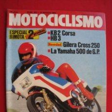 Automobili e Motociclette: REVISTA MOTOCICLISMO - Nº 843 - 10 MARZO 1984 - POSTER JOHN SURTEES.. Lote 175230467