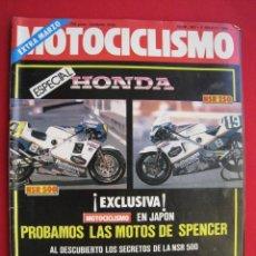Automobili e Motociclette: REVISTA MOTOCICLISMO - Nº 943 - 6 MARZO 1986.. Lote 175233934
