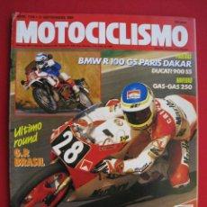 Coches y Motocicletas: REVISTA MOTOCICLISMO - Nº 1126 - 21 SEPTIEMBRE 1989 - POSTER ALEX CRIVILLE.. Lote 175270137