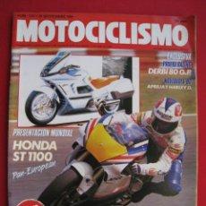 Coches y Motocicletas: REVISTA MOTOCICLISMO - Nº 1127 - 28 SEPTIEMBRE 1989 - POSTER SITO PONS.. Lote 175270463