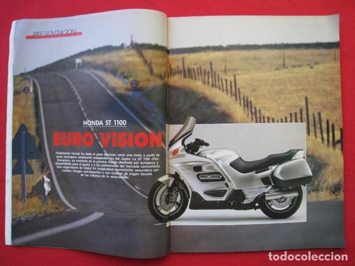 Coches y Motocicletas: REVISTA MOTOCICLISMO - Nº 1127 - 28 SEPTIEMBRE 1989 - POSTER SITO PONS. - Foto 5 - 175270463