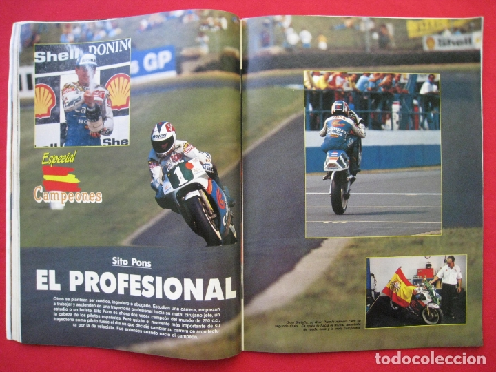 Coches y Motocicletas: REVISTA MOTOCICLISMO - Nº 1127 - 28 SEPTIEMBRE 1989 - POSTER SITO PONS. - Foto 7 - 175270463