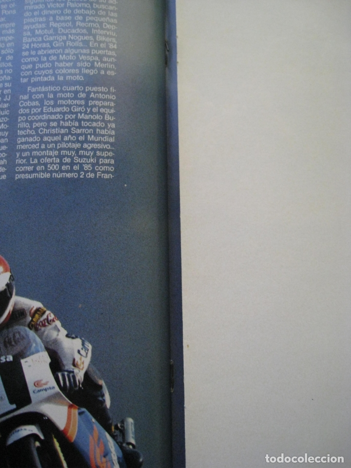 Coches y Motocicletas: REVISTA MOTOCICLISMO - Nº 1127 - 28 SEPTIEMBRE 1989 - POSTER SITO PONS. - Foto 9 - 175270463