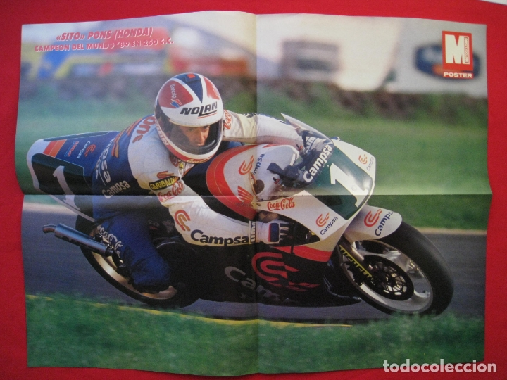 Coches y Motocicletas: REVISTA MOTOCICLISMO - Nº 1127 - 28 SEPTIEMBRE 1989 - POSTER SITO PONS. - Foto 11 - 175270463