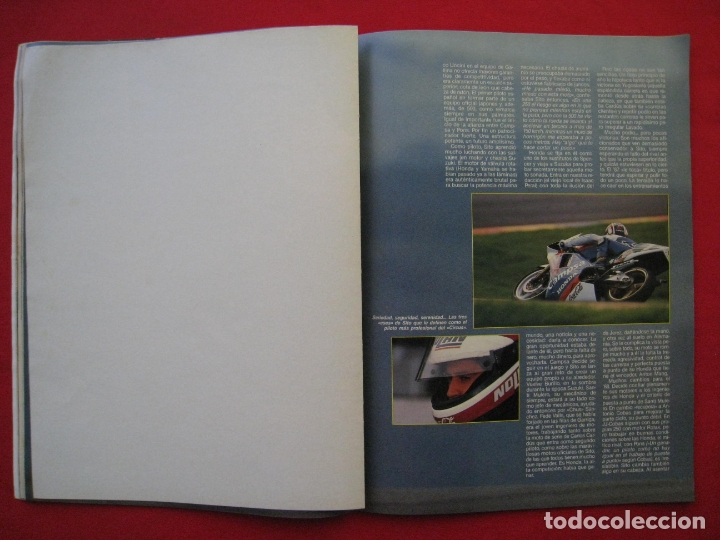 Coches y Motocicletas: REVISTA MOTOCICLISMO - Nº 1127 - 28 SEPTIEMBRE 1989 - POSTER SITO PONS. - Foto 12 - 175270463