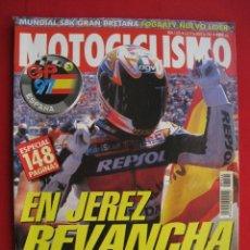 Automobili e Motociclette: REVISTA MOTOCICLISMO - Nº 1524 - 6 AL 12 DE MAYO DE 1997 - DOBLE POSTER MICK DOOHAN / NORICK ABE.. Lote 175342692