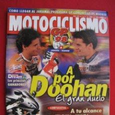 Automobili e Motociclette: REVISTA MOTOCICLISMO - Nº 1581 - 9 AL 15 DE JUNIO DE 1998.. Lote 175344550