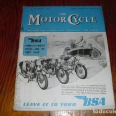 Coches y Motocicletas: THE MOTOR CYCLE Nº 2425 SEPTEMBER 1949 -. Lote 175353869