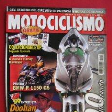 Coches y Motocicletas: REVISTA MOTOCICLISMO - Nº 1640 - 27 DE JULIO AL 2 DE AGOSTO DE 1999.. Lote 191422818