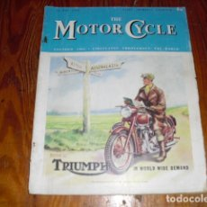 Coches y Motocicletas: THE MOTOR CYCLE Nº 2407 - 1949 -. Lote 175428412
