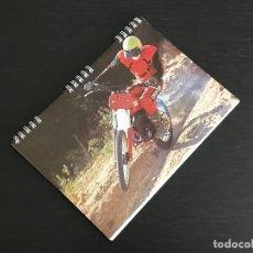 Coches y Motocicletas: DERBI MOTOCROSS - CUADERNO ESCOLAR AÑOS 70 - HOJAS CUADRICULADAS - SIN USAR - MOTO MOTOCICLISMO. Lote 175459365