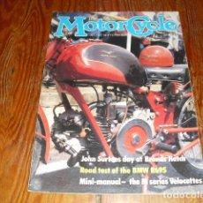 Coches y Motocicletas: MOTORCYCLE VOLUM., I Nº 2 - 1981 -. Lote 175473948