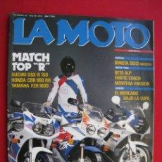 Coches y Motocicletas: REVISTA LA MOTO - Nº 25 - MAYO 1992.. Lote 175552963