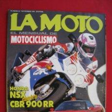 Coches y Motocicletas: REVISTA LA MOTO - Nº 43 - NOVIEMBRE 1993.. Lote 175631333