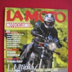 Coches y Motocicletas: REVISTA LA MOTO - Nº 58 - FEBRERO 1995.. Lote 175638109