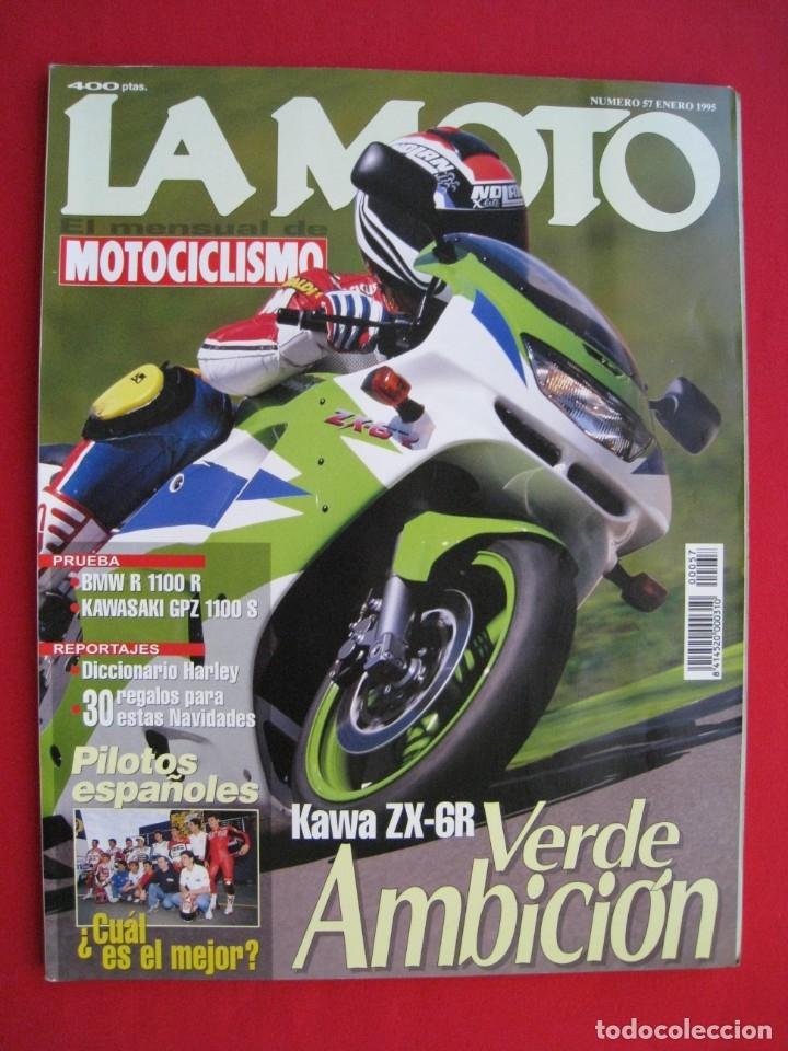 REVISTA LA MOTO - Nº 57 - ENERO 1995. (Coches y Motocicletas - Revistas de Motos y Motocicletas)