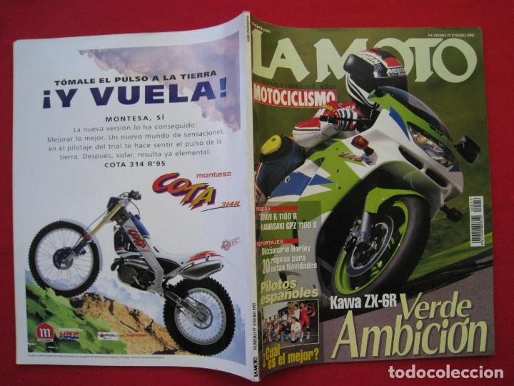 Coches y Motocicletas: REVISTA LA MOTO - Nº 57 - ENERO 1995. - Foto 3 - 175638248