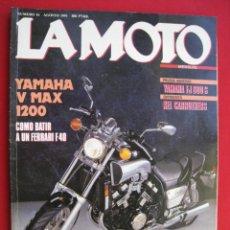 Coches y Motocicletas: REVISTA LA MOTO - Nº 16 - AGOSTO 1991.. Lote 175720604