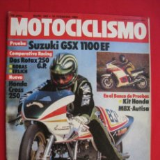 Coches y Motocicletas: REVISTA MOTOCICLISMO - Nº 840 - 18 FEBRERO 1984 - POSTER ERNST DEGNER.. Lote 176023075