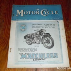 Coches y Motocicletas: THE MOTORCYCLE Nº 2408 - JUNE 1949 -. Lote 176106275