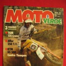 Carros e motociclos: REVISTA MOTO VERDE - Nº 50 - SEPTIEMBRE 1982.. Lote 176265082