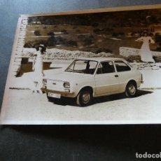 Coches y Motocicletas: FOTOGRAFIA ORIGINAL DE PRENSA SEAT 133 . Lote 177289194