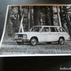 Coches y Motocicletas: FOTOGRAFIA ORIGINAL DE PRENSA SEAT 1430 FAMILIAR . Lote 177289778