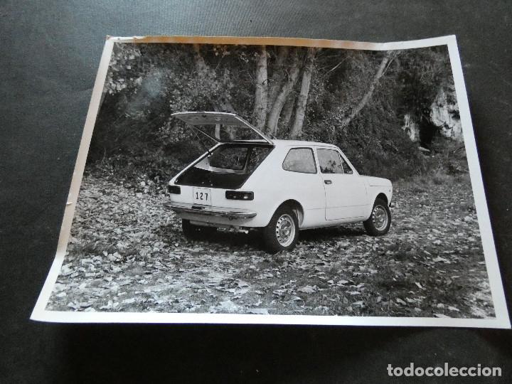 FOTOGRAFIA ORIGINAL DE PRENSA SEAT 127 (Coches y Motocicletas - Revistas de Motos y Motocicletas)