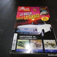 Coches y Motocicletas: REVISTA AUTO FOTO NUMERO 89 ENERO 2004 . Lote 177290713